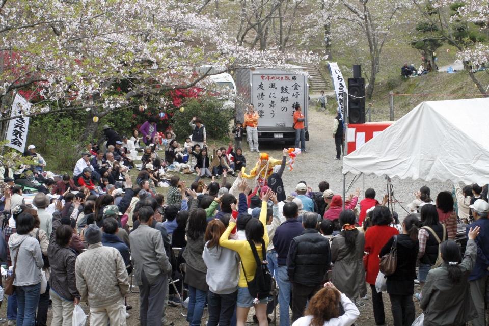 NEOチンドン☆チロル堂@観音ヶ池公園さくら祭