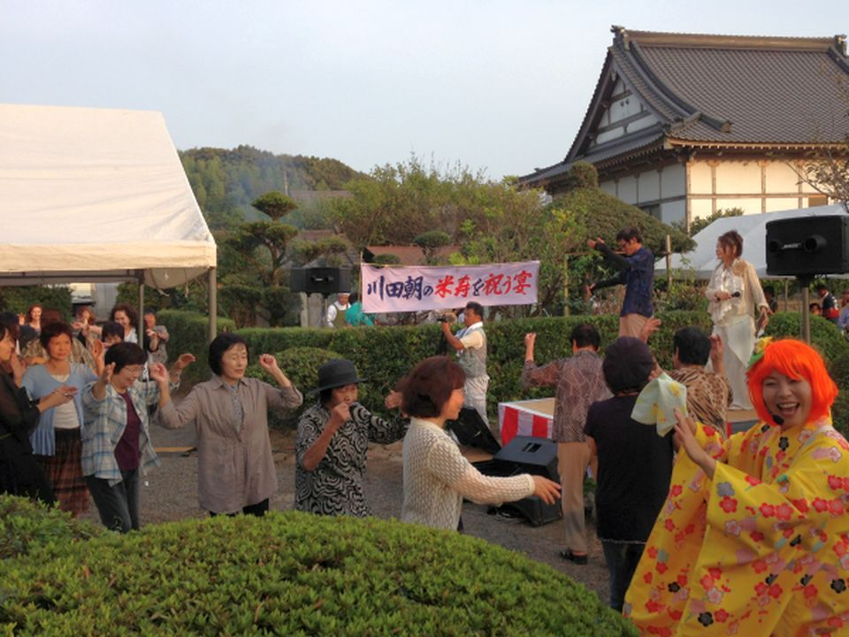NEOチンドン☆チロル堂@川田朝さん米寿を祝う会