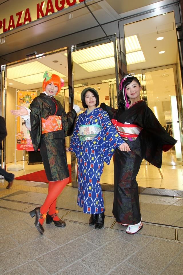NEOチンドン☆チロル堂@第30回国民文化祭かごしま2015アミュステージ 其の弐