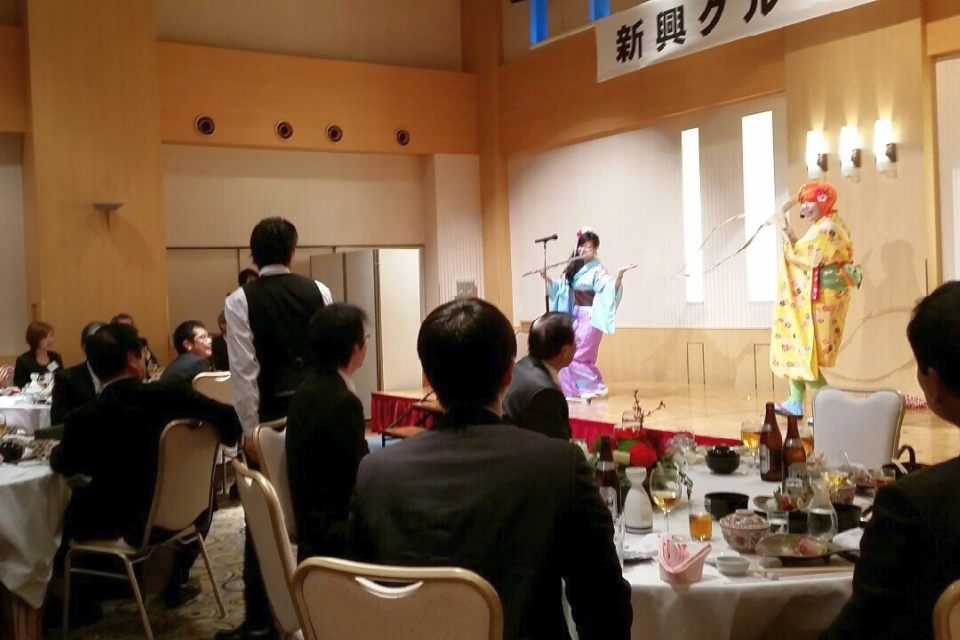 NEOチンドン☆チロル堂@新興グループ新年会