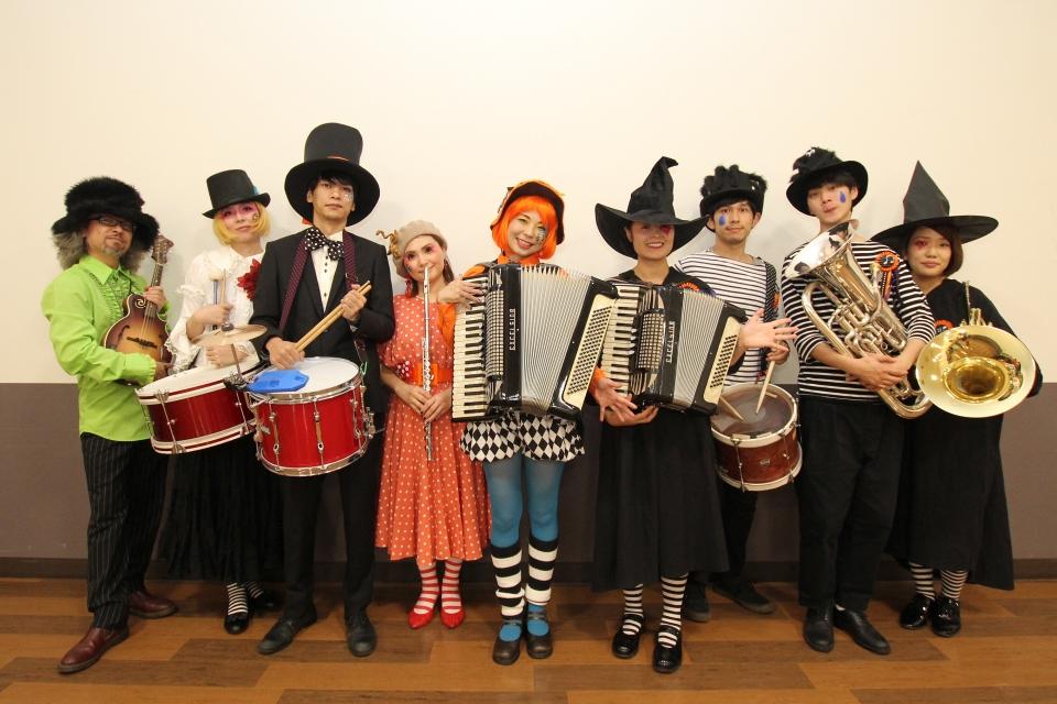 LAG BAG MUSIC 楽団&NEOチンドン☆チロル堂@KYTハッピーハロウィーンフェスティバル2017