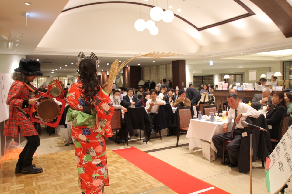 NEOチンドン☆チロル堂@設立55周年 平成30年 株式会社芙蓉商事 新年会