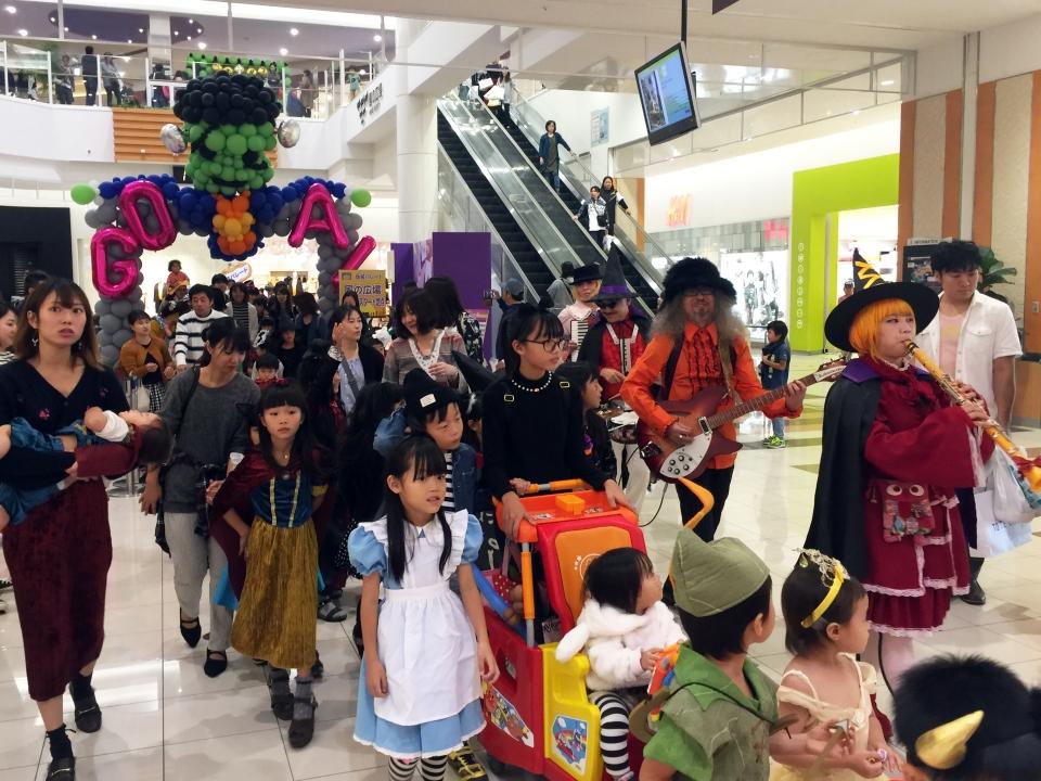 NEOチンドン☆チロル堂@KYTハッピーハロウィンフェスティバル2018②